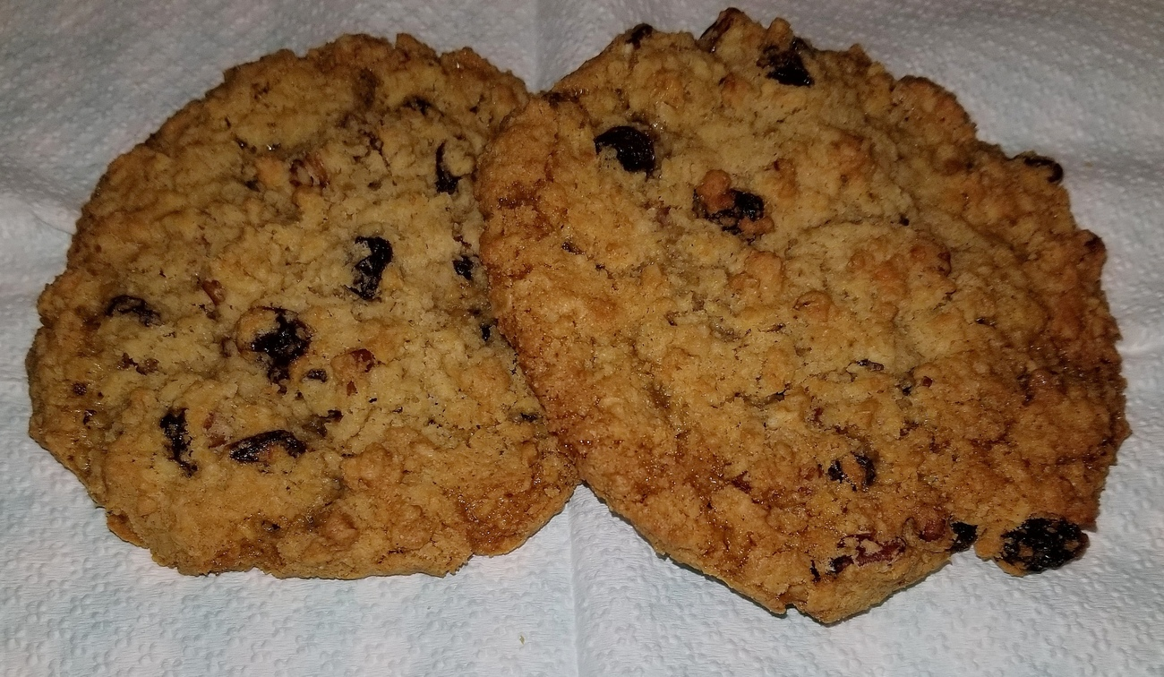 couple of moist oat meal cookies by Richardphotos