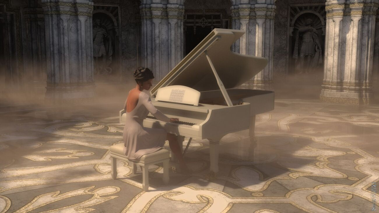 piano player by hashdoc