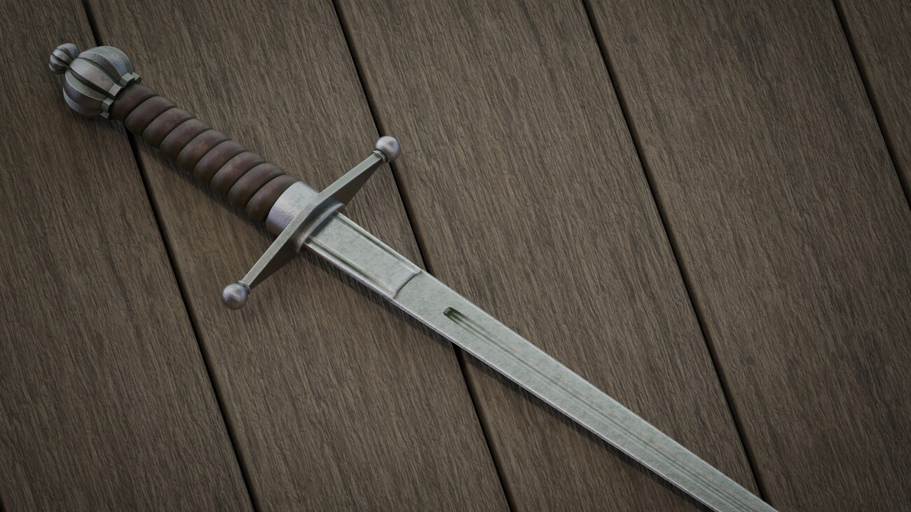 Medieval sword by pchef
