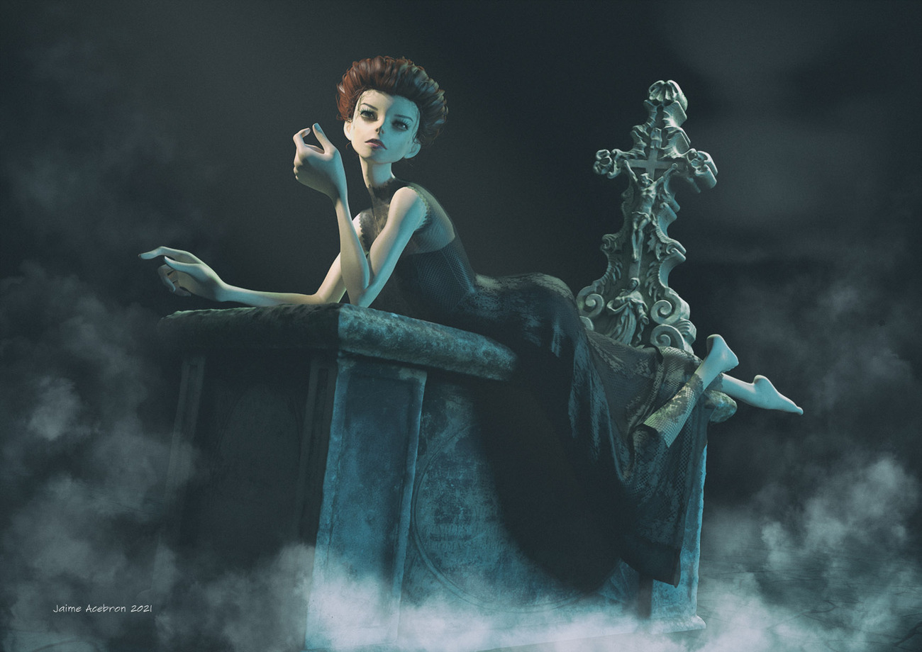 Gothic fantasy by norbeca
