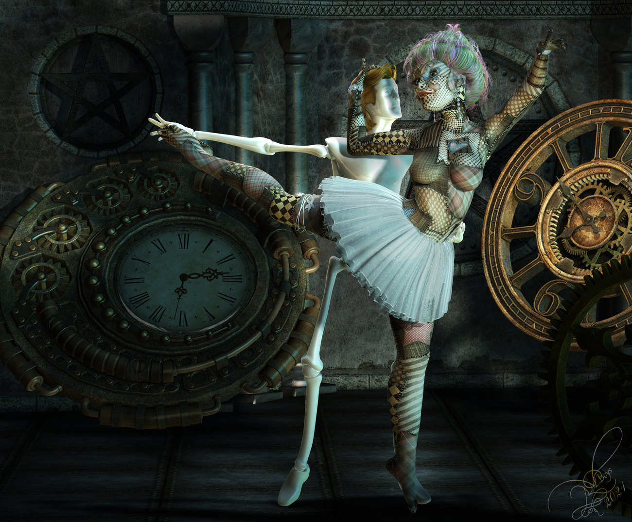 Dolly Dance by donnena