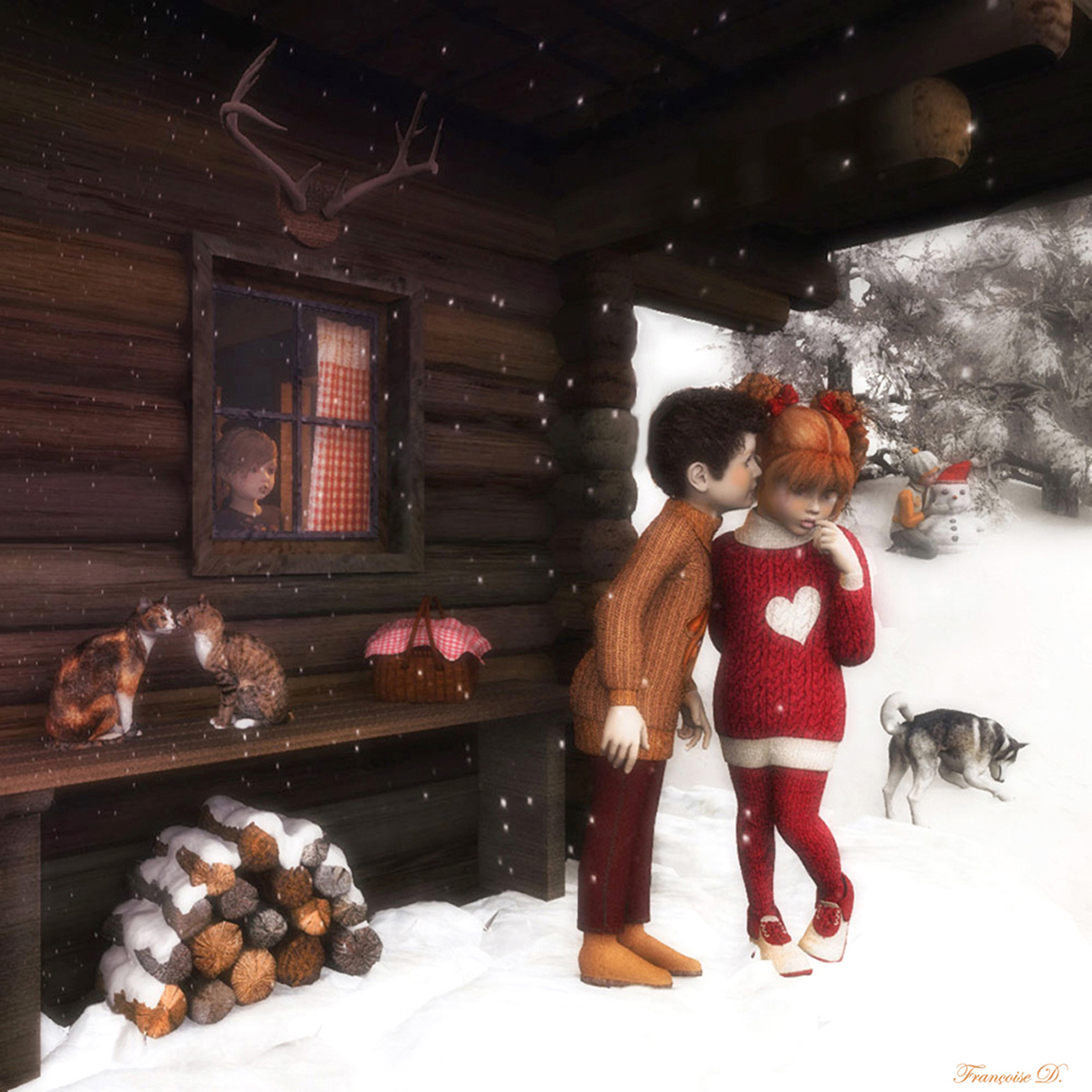 Winter Kisses by madame