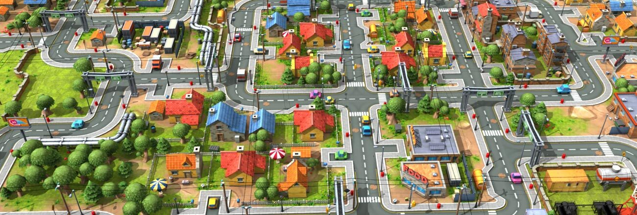 3D GAME ASSET MODELING DESIGN STREET VIEW –  by characteranimation