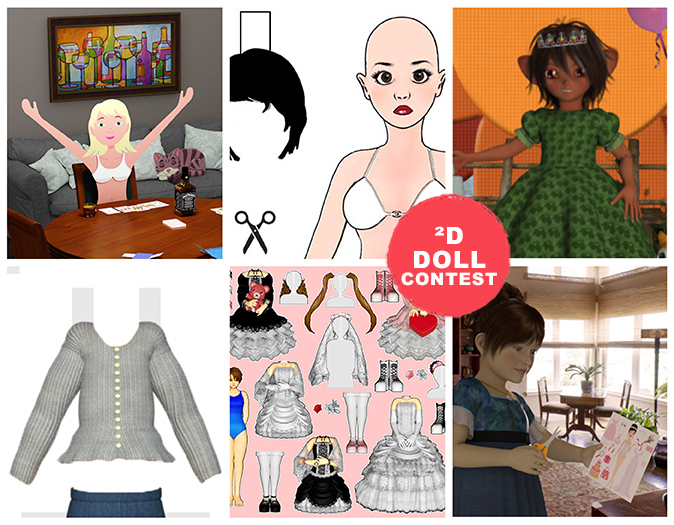 2D Doll Contest Voting is Now Open