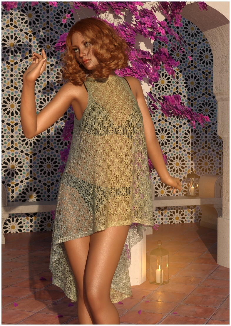 dForce Cora Dress #1 by Lully