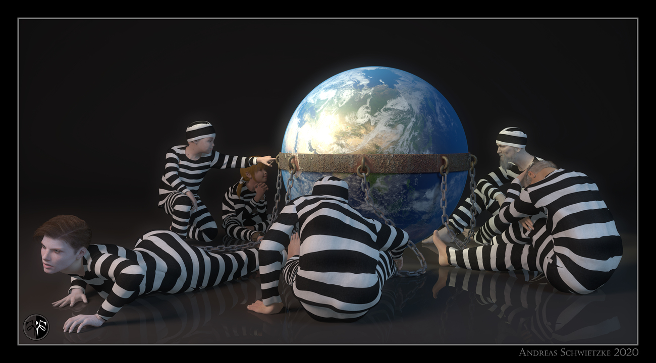 We are all prisoners! by arteandreas
