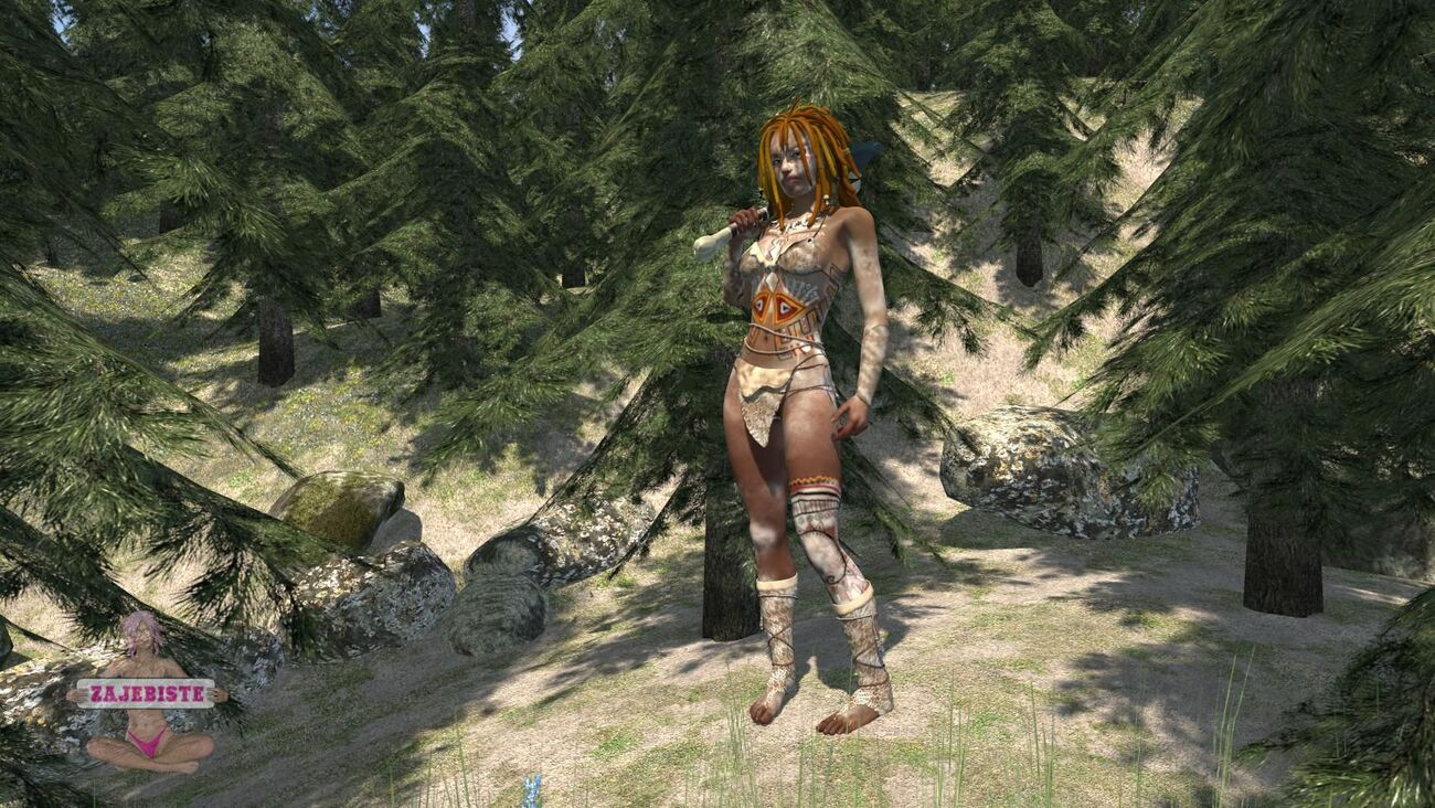 Forest tribe by DocDaffy