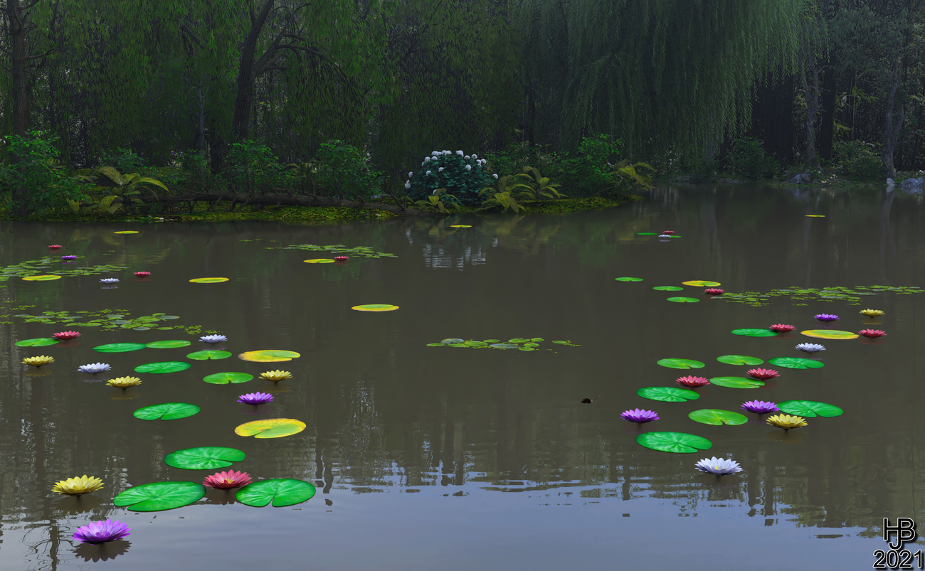 Lily Lake by Hajoba