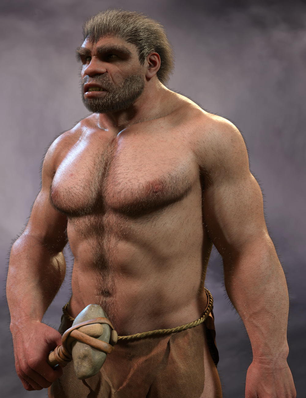 Neanderthal Hair by midnight_stories