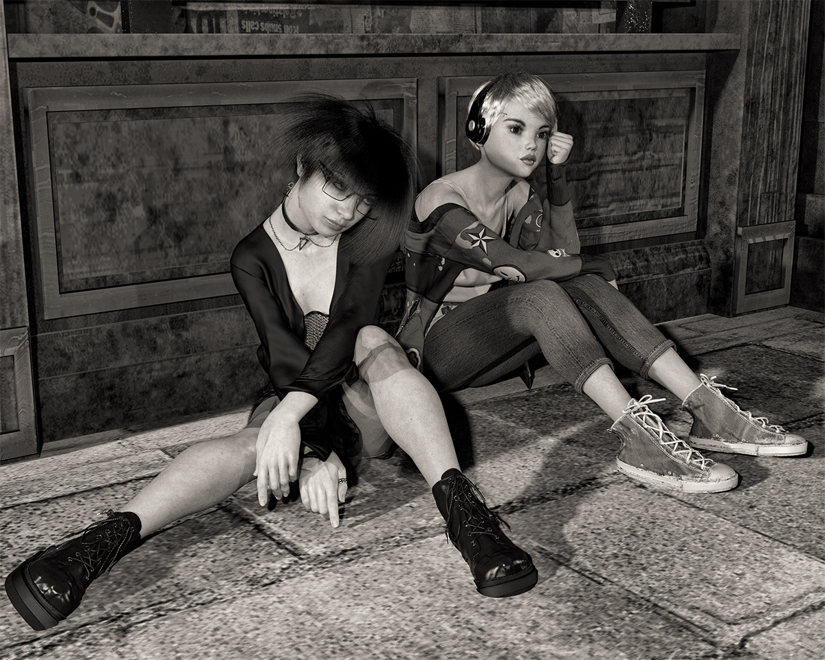 Girls by martial