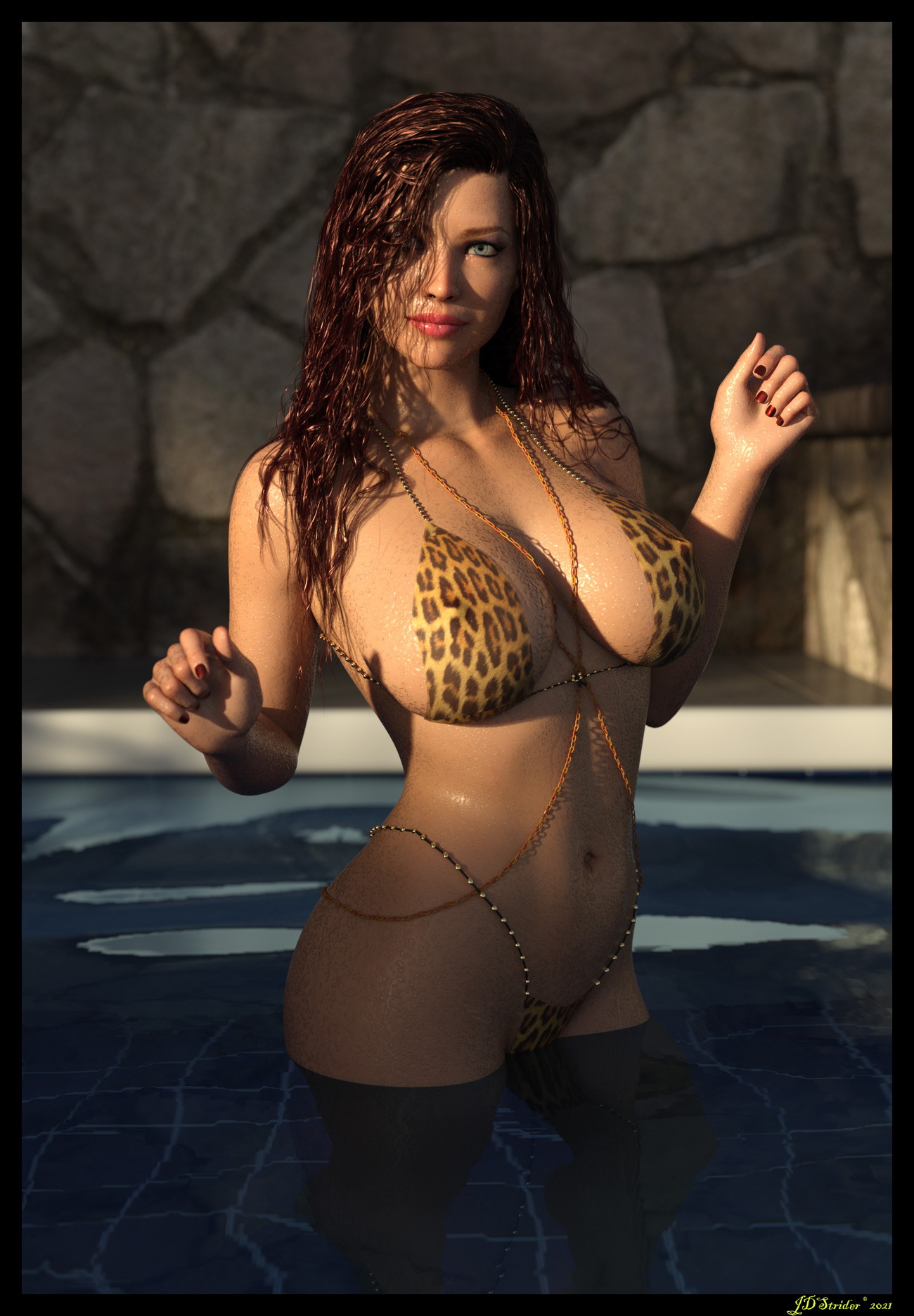Paris - Wet Leopard by jdstrider