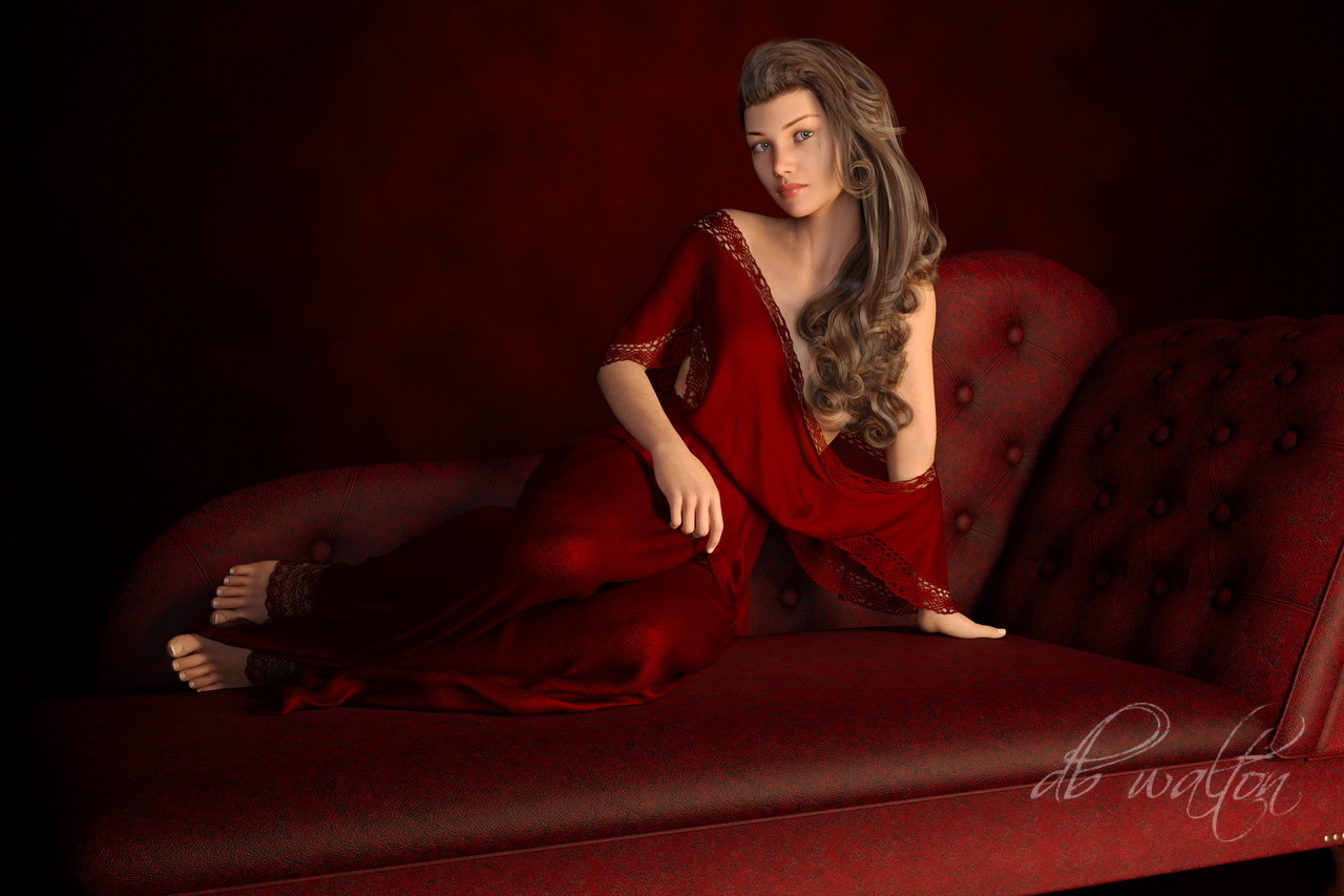 Color Harmony and Reclining Pose 2