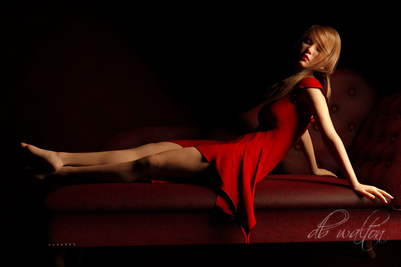 Color Harmony and Reclining Pose 6 by dbwalton