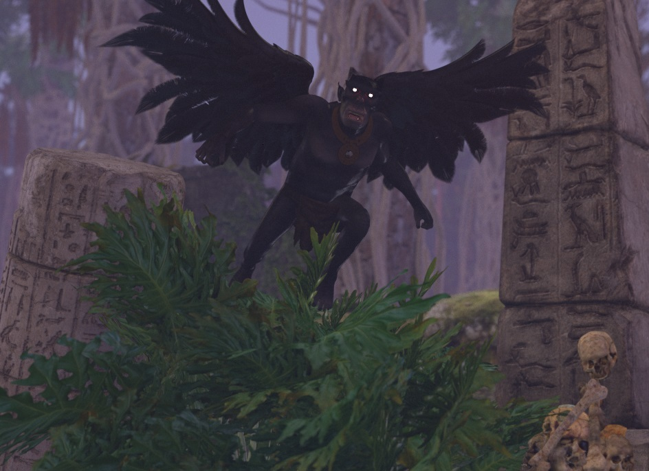 The Winged Demon of the Jungle by StarGazer9