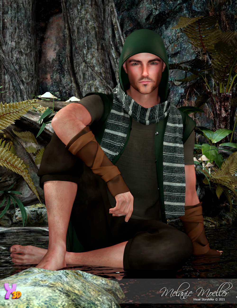 Leif for Tempesta3d by Nyala