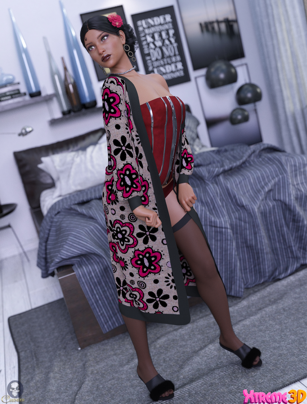 Fashion Long Cardigan G8F by ArtOfDreams 2 by crender