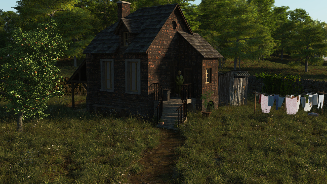 Grandma's Cottage by iborg64