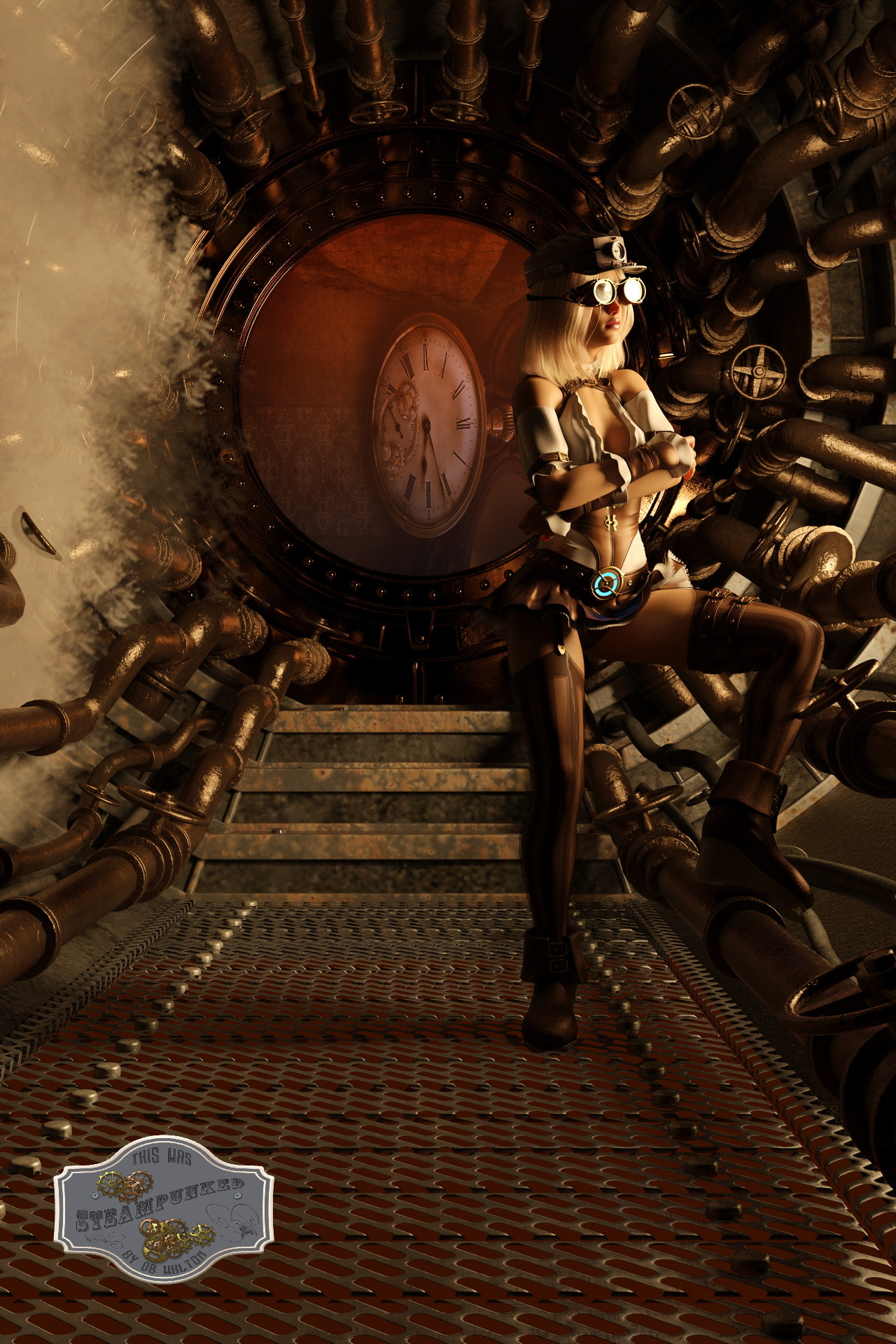 Steampunk Time Travel 2 by dbwalton