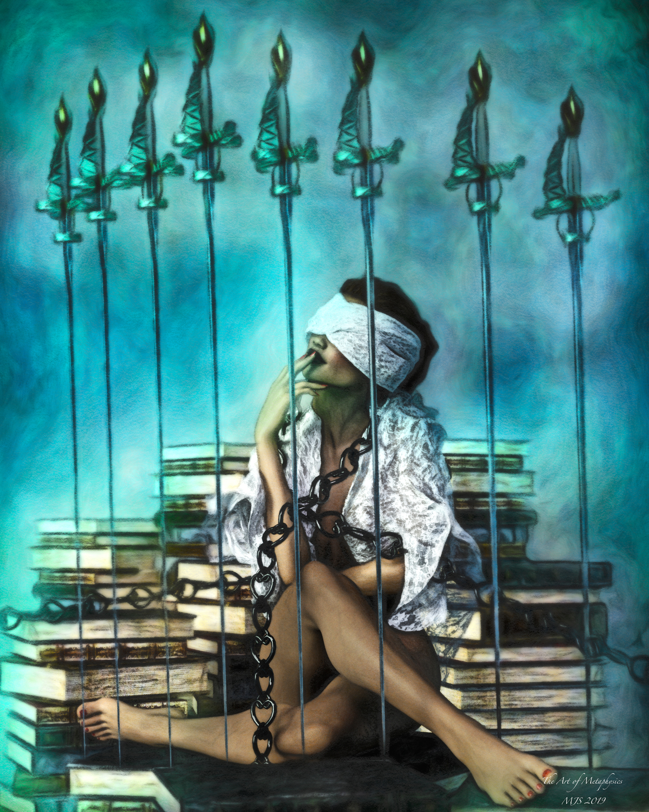 Eight of swords by whitehawk63