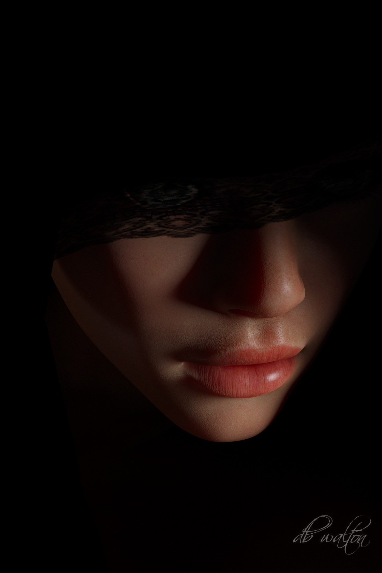 Mysterious Woman 1