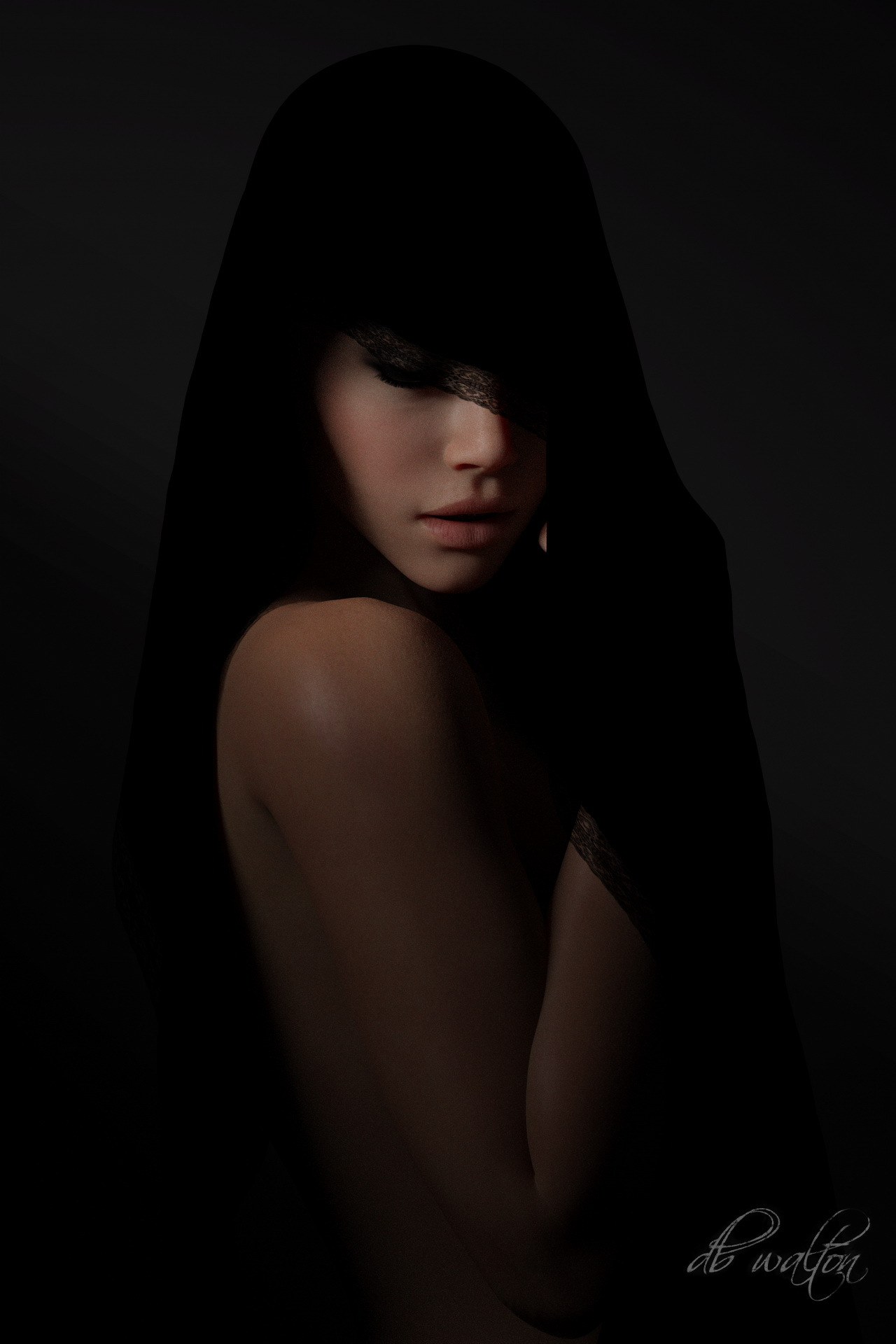 Mysterious Woman 3 by dbwalton