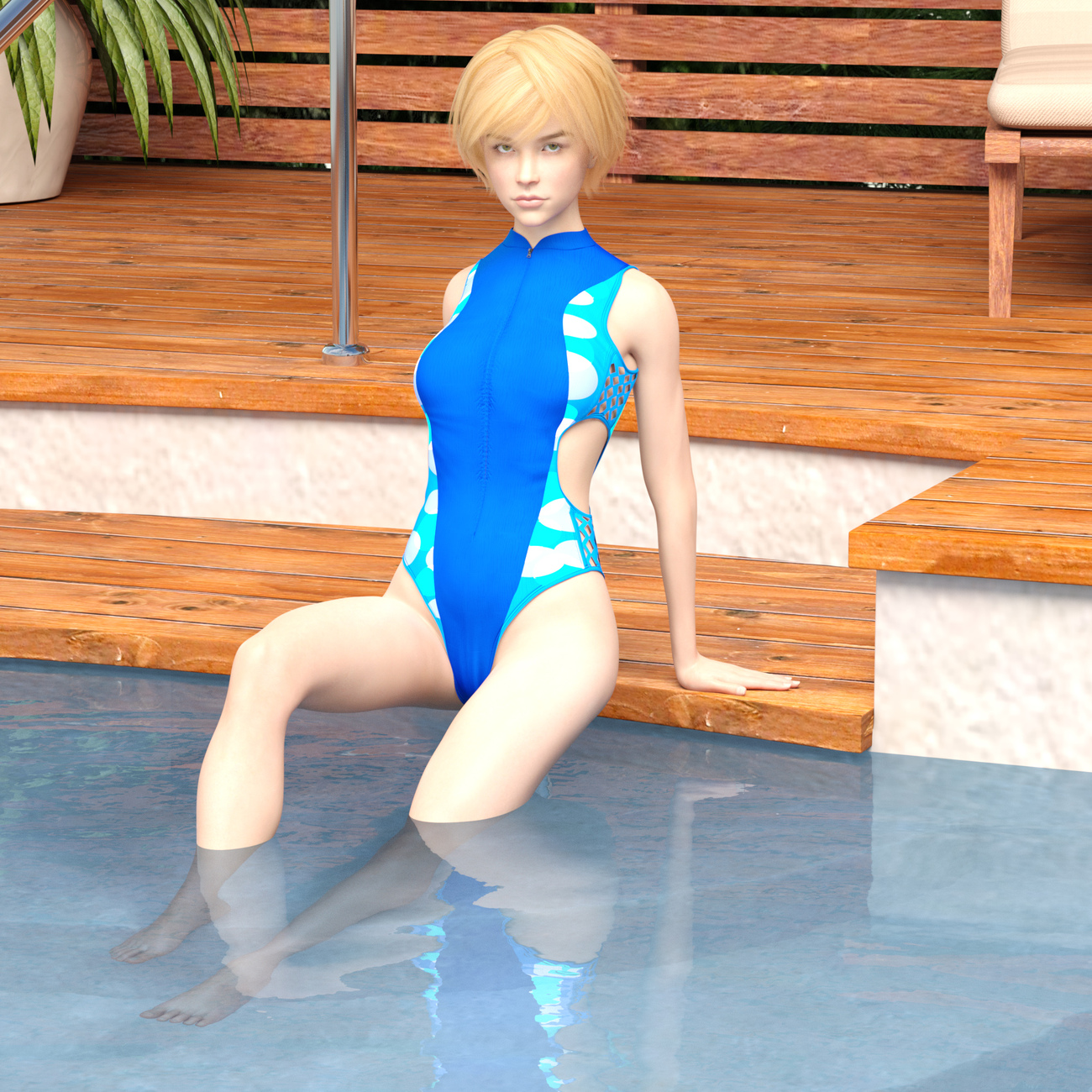 G8F Swimming Pool Deck by x7