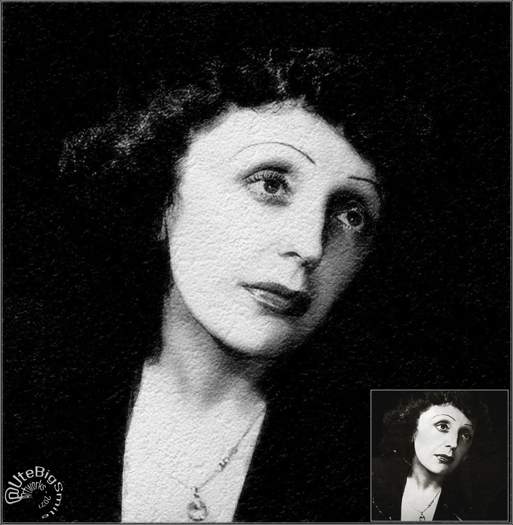 My personal Tribute to Edith Piaf