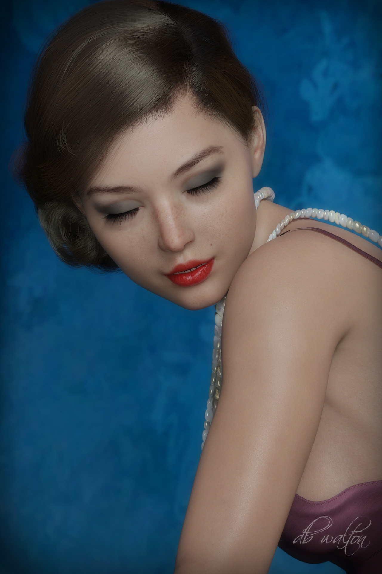 Flapper Girl 2 - in color by dbwalton