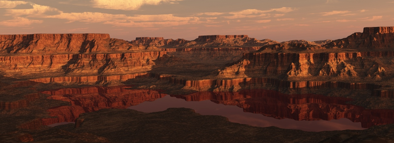Red River Canyon by TinkerACW