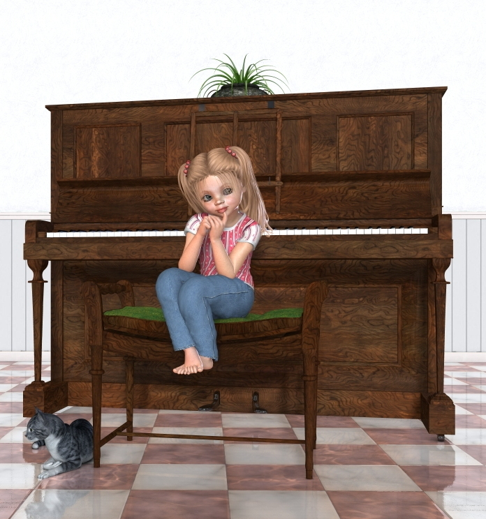 Piano Lesson by kelchris3