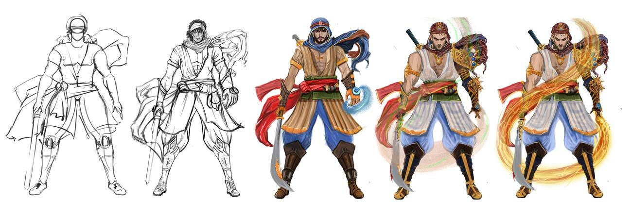Character Concept Art Services by 3D Game Art Stud by characteranimation