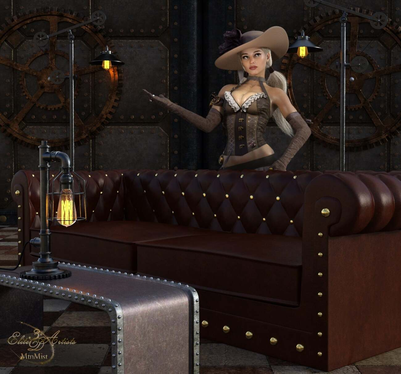 Steampunk Home for DS 04 by Elite3DArtists