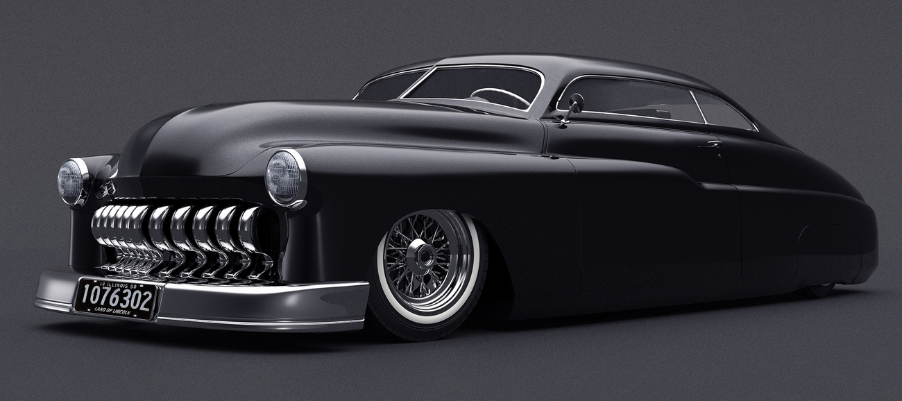 1950 Mercury Coupe by Darkglass
