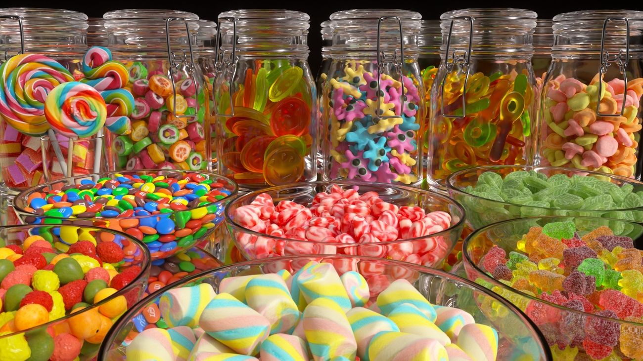 Colored Candy by Svenart