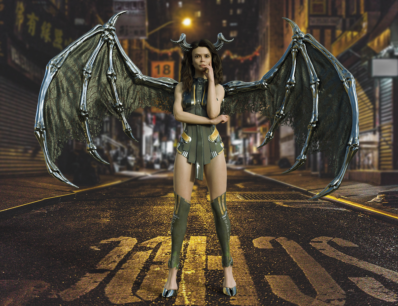 Sci fi Succubus by midnight_stories