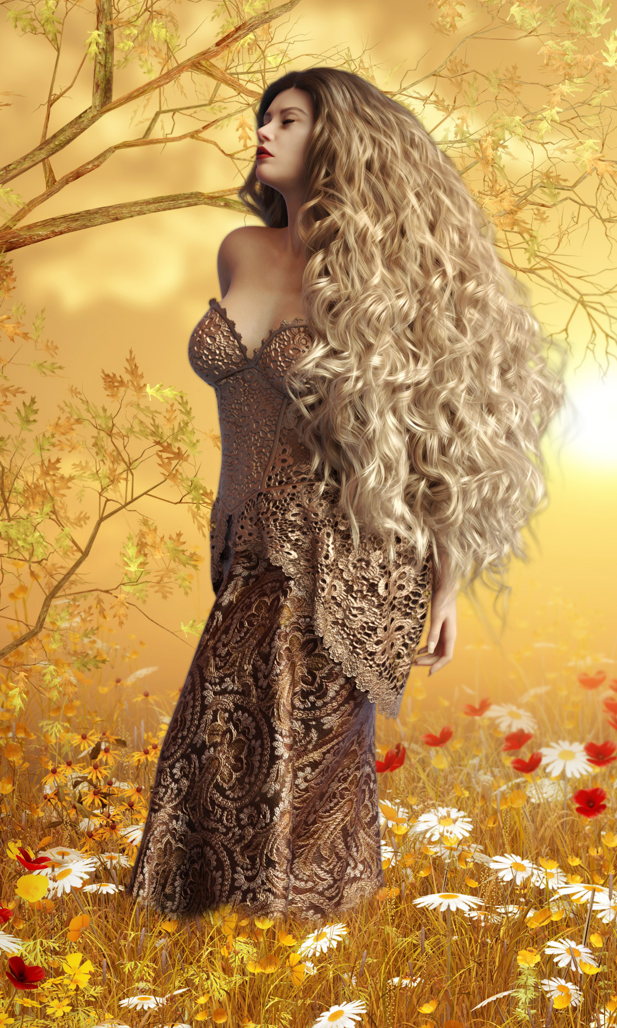 InStyle Bewitching Gown by Teufelseinhorn
