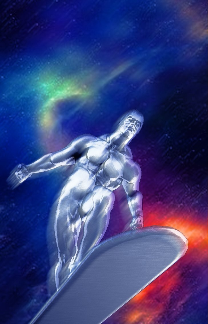 Silver Surfer by Tucan-Tiki