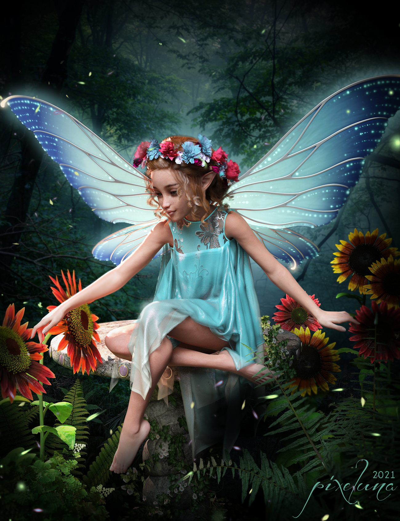 The Blue Faery
