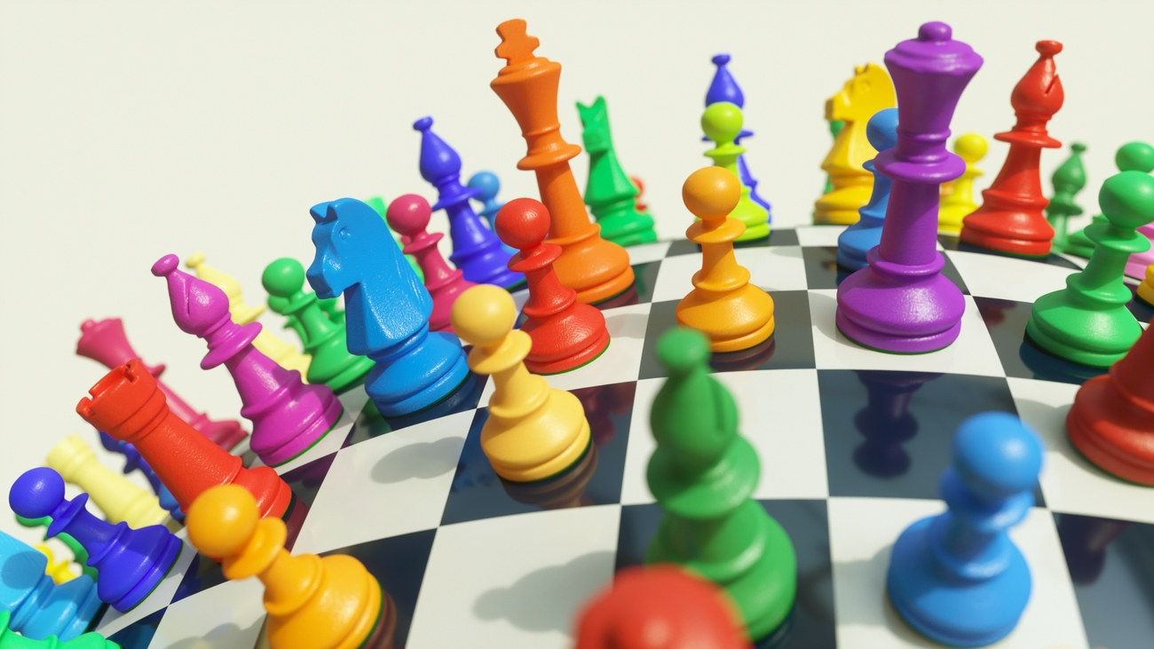 Colored Chessplanet