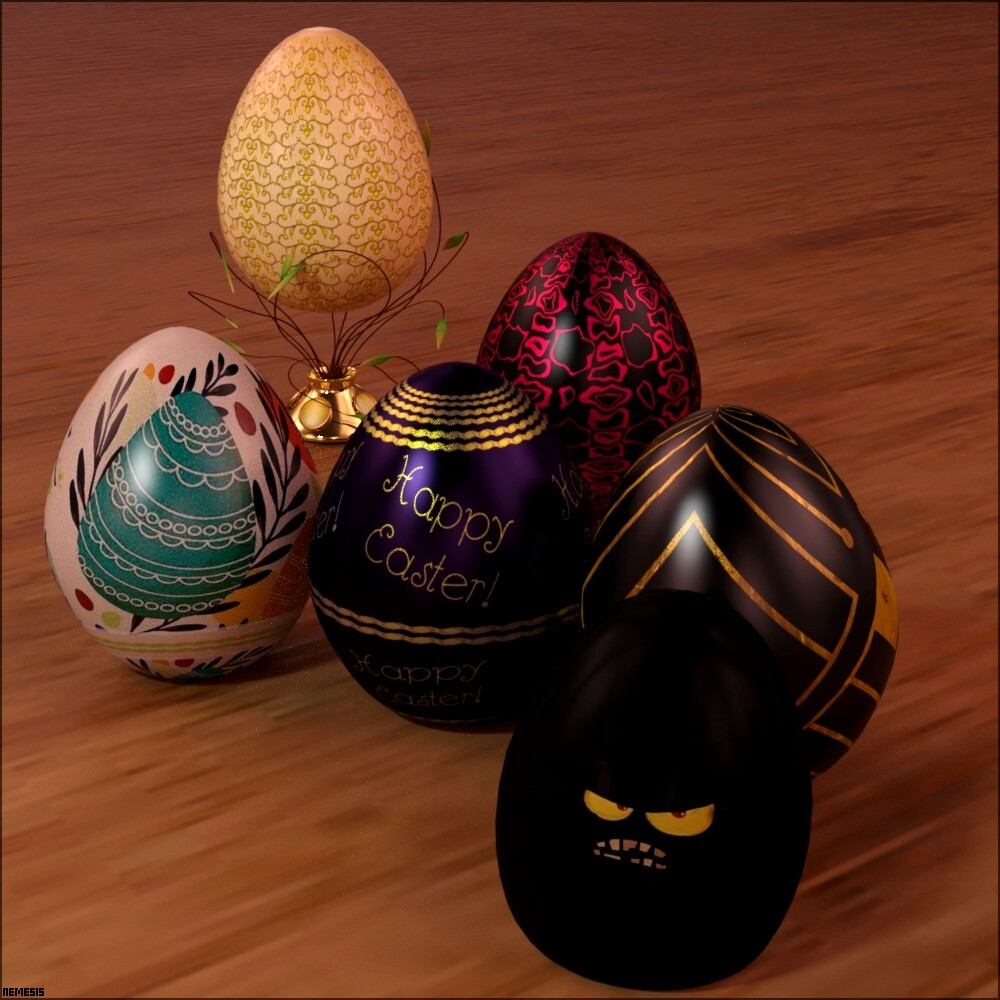 Happy Easter by nemesis74s