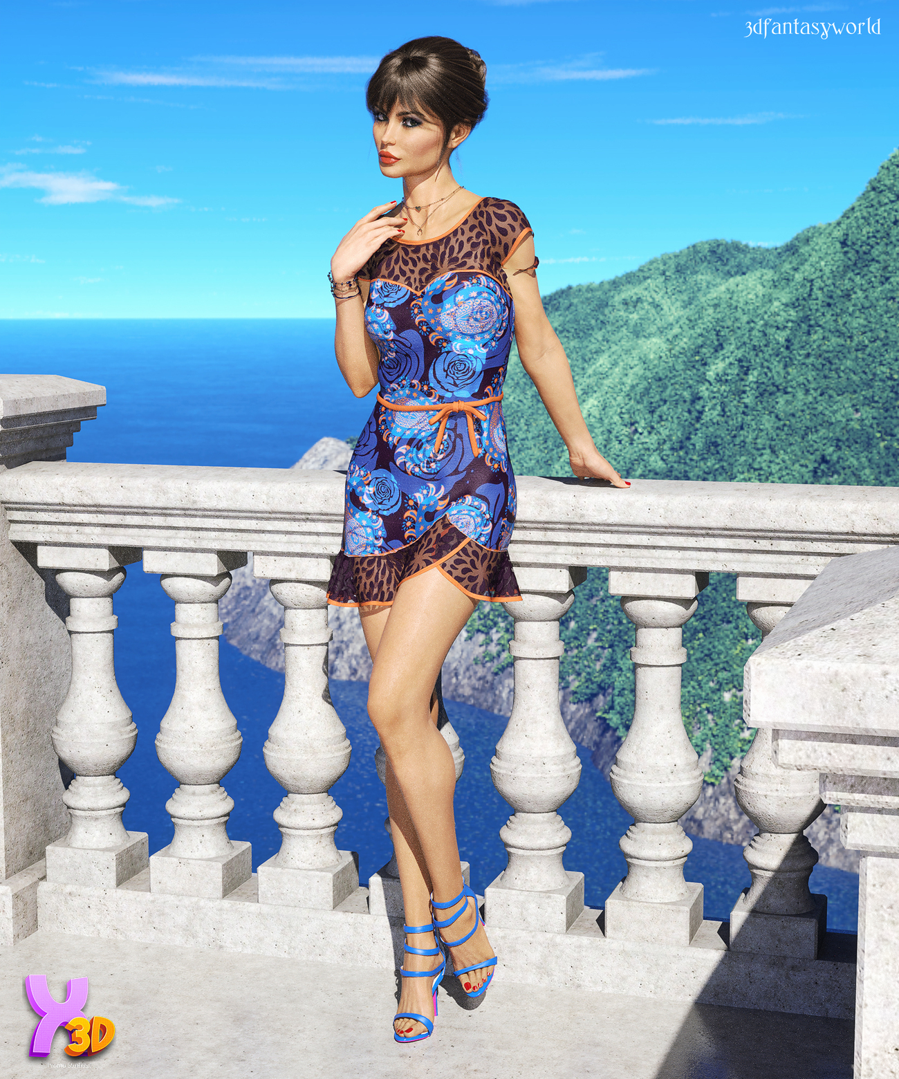 CityWear Jaila Outfit G8F by fantasy3dworld