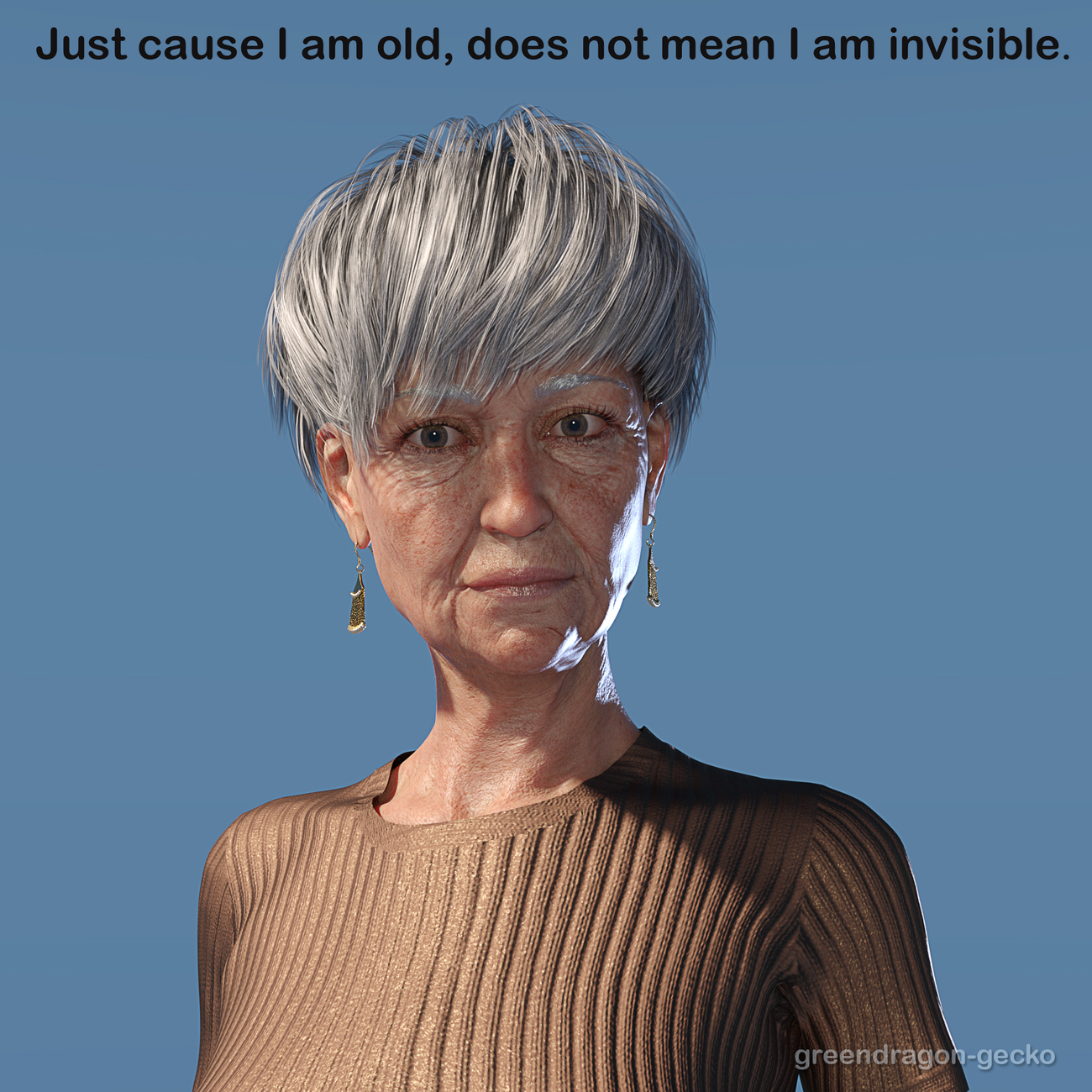 I am not invisible by Salerina