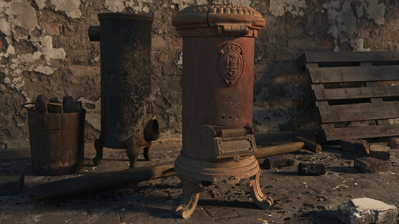 2 old stoves by iborg64