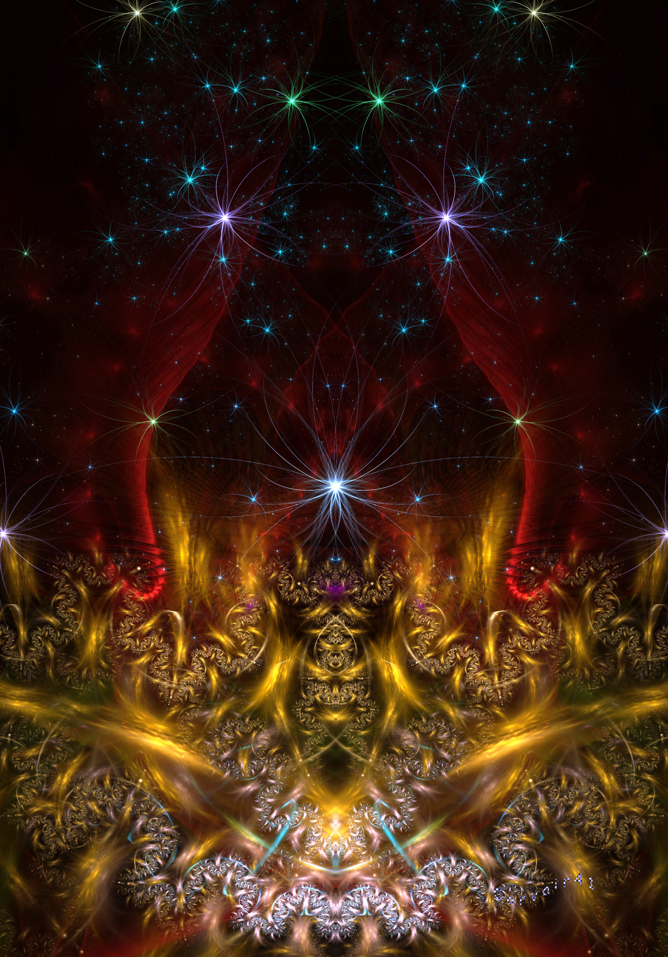 Fractal fantasy by corvair42