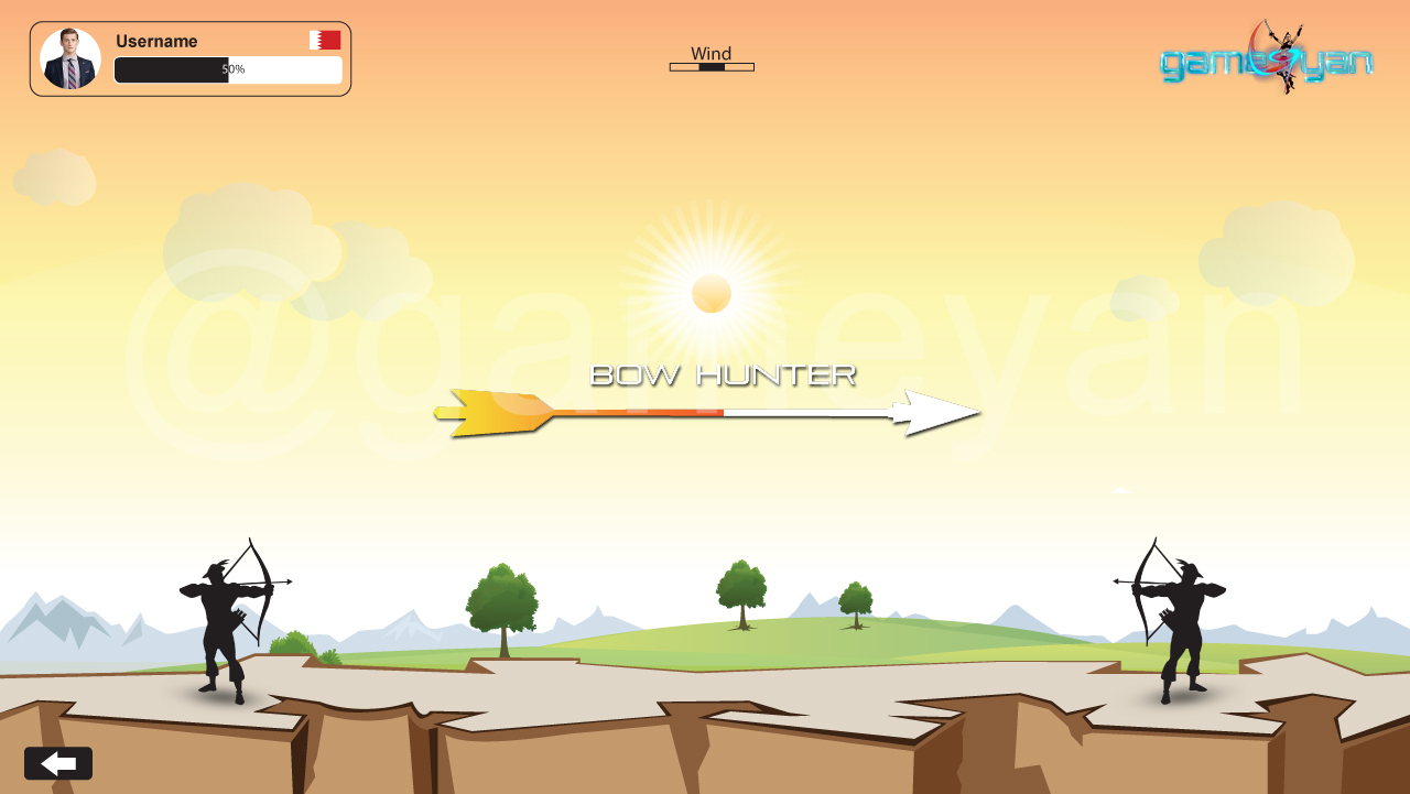 Bow Hunter – 2D multiplayer Game by 3D Game  by characteranimation