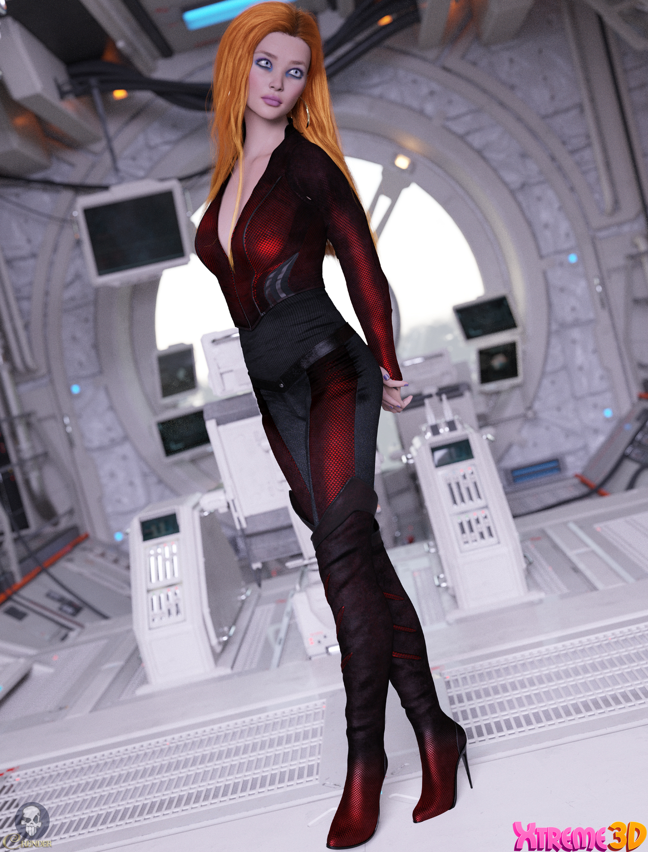 TDT-Amina for G8.1 F by Deva3D by crender