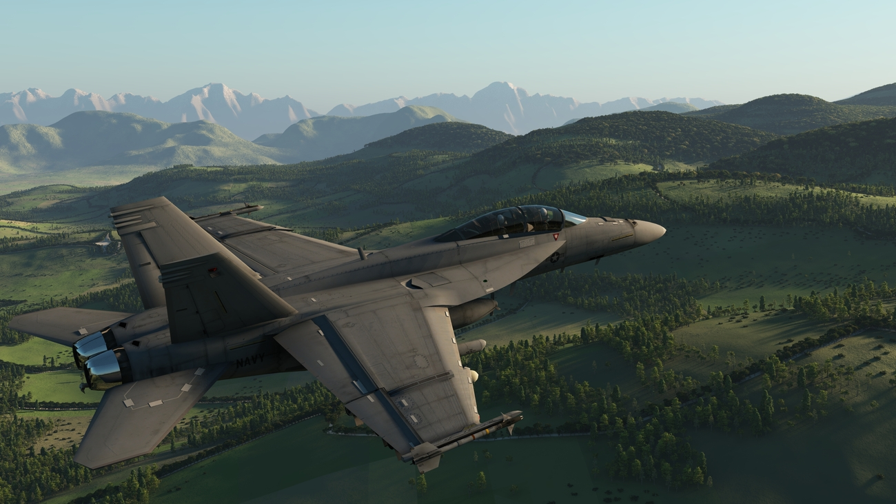 FA 18F super Hornet by iborg64