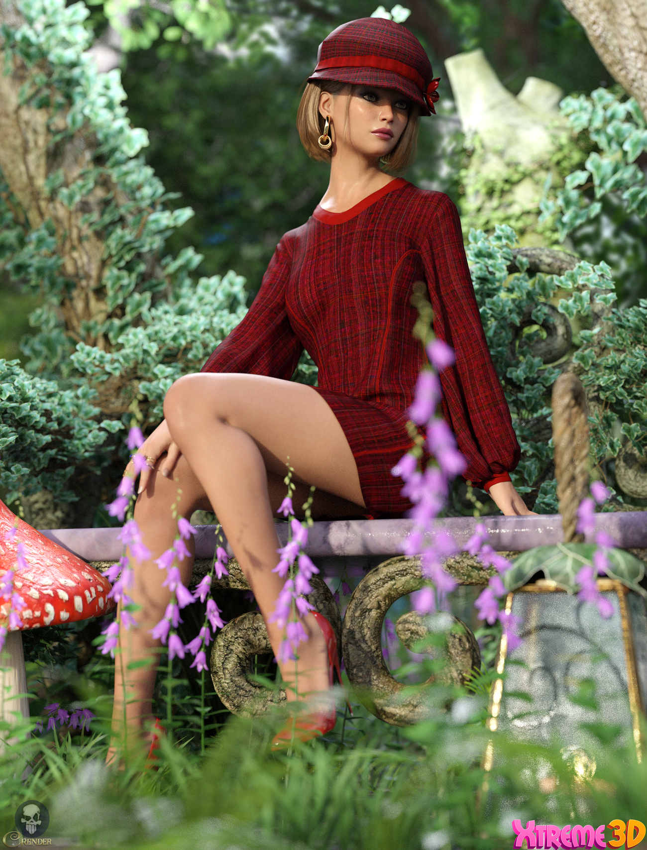 dForce Micro Mini Dress Outfit by Nelmi 2 by crender