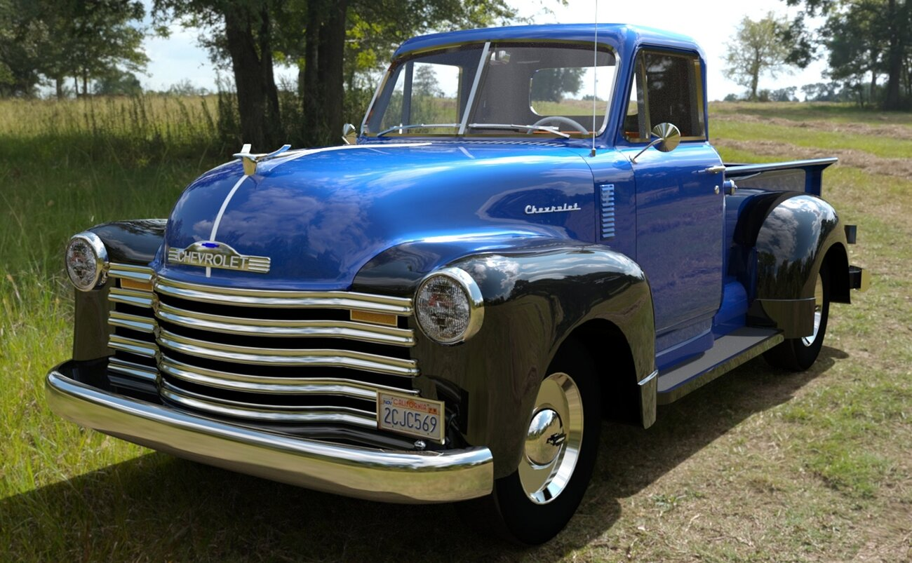 1951 Chevy pickup by spad007