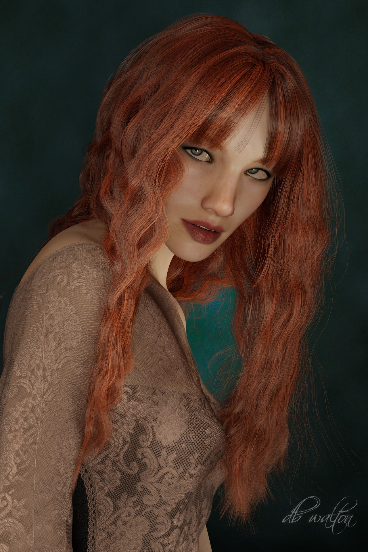 Dazzling Ginger 3 by dbwalton